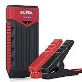 Suaoki T10 Auto Starthilfe 400A Spitzenstrom 12000mAh Tragbare Autobatterie Externer Akku Ladegerät mit Eingebaute LED...