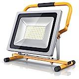 Brandson - 50W LED Baustrahler | Arbeitsscheinwerfer | Bauscheinwerfer | LED Fluter mit 4800 Lumen | Für den Innen- und...