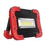 LED-Scheinwerfer tragbar 10W,750LM LED-Arbeitsleuchte Wasserdicht für eine Vielfalt an verschiedenen Räumen im Freien...