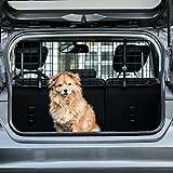 Heldenwerk Universal Kofferraum Trenngitter für Hunde - Auto Hundegitter zum Transport für deinen Hund - Schutzgitter...