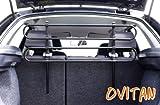 OVITAN Hundegitter fürs Auto 4 Streben universal zur Befestigung an den Kopfstützen der Rücksitzbank - für alle...