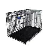 Simply Maison   Hundekäfig   Transportbox   Drahtkäfig mit 1 oder 2 Türen   Tragegriffen   Mit oder ohne Rollen   (...