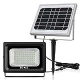 Solarleuchten Solarlampen Außen Solar Betriebene Außenleuchte, MEIKEE 60 LED Sicherheit Beleuchtung Wandleuchte,IP66...