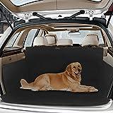 Topist Kofferraumschutz Hunde, Wasserdicht Hundedecke Auto, Rutschfest Kofferraumdecke mit Seitenschutz, Autoschondecke...