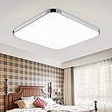 HENGDA 36W Weiß LED Deckenleuchte Deckenlampe Deckenlampe Wohnraumleuchte Beleuchtung Modern Energiespar Licht aus...