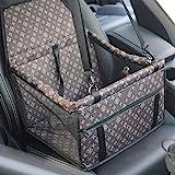 GUOYIWasserdicht Atmungsaktiv Haustier Auto Matte Haustier Sicherheit Auto Sitz Doppelt Schicht Verdickt Haustier Tragen...