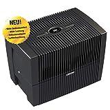 Venta Luftwäscher LW45 COMFORTPlus Luftbefeuchter und Luftreiniger für Räume bis 80 qm, Brillant Schwarz, mit...