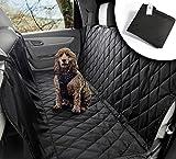 VIIRKUJA Hundedecke Auto | Wasserabweisend, Waschbar, Rutschfest und in universal Größe | Rückbank oder Kofferraum |...
