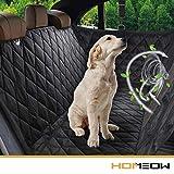 HOMEOW Hundedecke für Auto Rückbank, Komplettschutz Autoschondecke Kofferraumschutz für Haustiere, Wasserfeste...