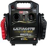 KS Tools 550.1840 12 V Kondensator-Booster-mobiles Starthilfegerät 1800 A, schwarz/rot