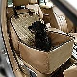 Pecomer Hund Autositzbezug 2 in1 Pet Bucket Cover Booster Sitz Rutschfest Wasserdicht Verstellbar Autositzabdeckung...