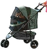 Pet Gear 02704 Buggy zum Transport von Hunden/Vierbeinern, ohne Reißverschluss, Sonderausführung Salbeigrün, bis...