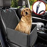Hunde Autositz MATCC Sitzbezug für Vordersitz Wasserdicht Hund Autositzbezug Autositz Für Haustier Abriebfest Hund...