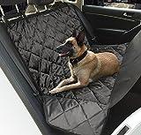 Hundedecke Auto, Topist Wasserdicht Autoschondecke für Hunde Anti-Rutsch Hunde Autodecke, Super Weich für Auto SUV VAN...